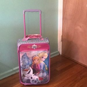 Other - Anna and Elsa Frozen suitcase for girls